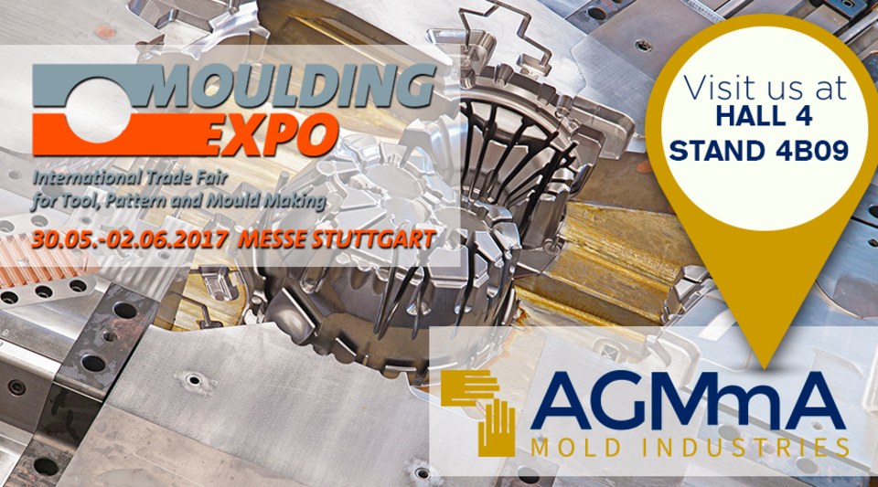AGMMA GROUP will be present at THE MOULDING EXPO 2017